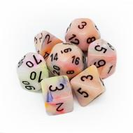 Chessex Festive Circus with Black 7-Dice Set