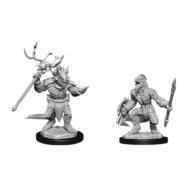 D&D Nolzur's Marvelous Miniatures Lizardfolk and Lizardfolk Male Shaman, figurice
