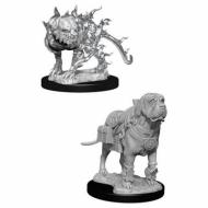 D&D Nolzur's marvelous miniatures - Mastif & Shadow Mastif, D&D, figure, minijature, miniji, figurice, dungeons and dragons