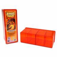 Dragon Shield Four Compartment Storage Box Orange, kutijica, deck box, mtg, yugioh, zaštita, karte beograd, prodaja
