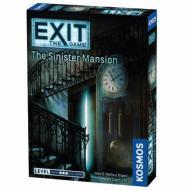 Exit The Sinister Mansion, escape room, party game, zabava, misterija, zagonetke