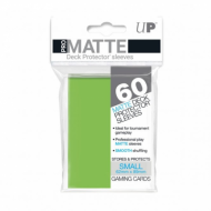 Slivovi Pro Matte Deck Protector Sleeves Lime Green pakovanje