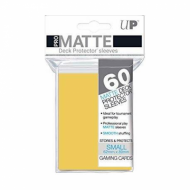 Slivovi Pro Matte Deck Protector Sleeves Yellow pakovanje