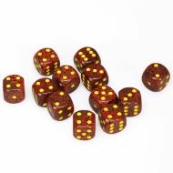 Chessex Speckled Mercury 16mm D6 Dice Block (12 Dice)
