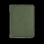 Suede Emerald 9-Pkt zippered Premium PRO-Binder