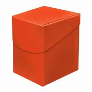 Ultra Pro + 100 Eclipse Deck Box Pumpkin Orange, kutija za karte, kutijica