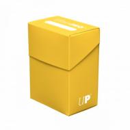 Ultra PRO Plain Yellow Solid Deck Box , Kutijica