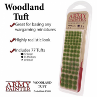 Woodland Tuft, Basing, tuft, baze, minijature, izrada terena, tereni, izrada baza, flock