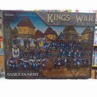 Kings of War - Basilean Army, ratna igra, minijature, strategija