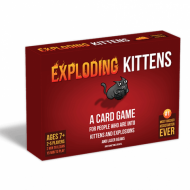 Exploding Kittens, društvena igra, igra godine, preporuka, porodična igra, poklon, board game, dečija igra, rođendan, pametan poklon
