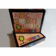 Kockice Latinica, drvene kocke, kockice, igračke, društvena igra, porodična igra, poklon, board game, dečija igra, rođendan, pametan poklon