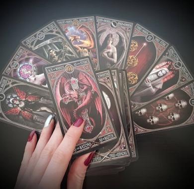 Fournier Anne Stokes Gothic Tarot, karte za poker, karte za igranje, poker, beograd, playing cards