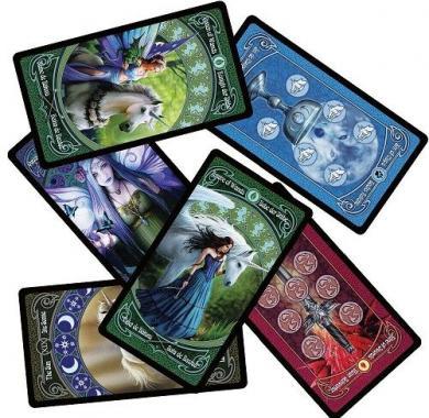 Fournier Anne Stokes Legends Tarot, karte za poker, karte za igranje, poker, beograd, playing cards