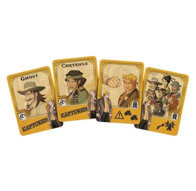 Drustvena igra Colt Express: Marshal and Prisoners, karte