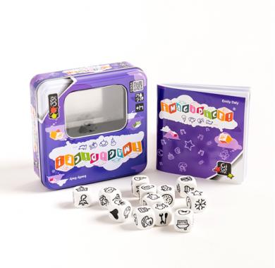 Edukativna igra Imagidice, gigamic, sadrzaj kutije