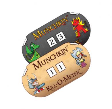 Drustvena igra Munchkin Apocalypse, brojac