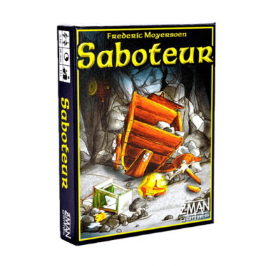 Drustvena igra Saboteur, kutija