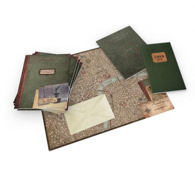 Sherlock Holmes: The Baker Street Irregulars, sadrzaj kutije