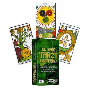 Fournier The Gran Tarot Esoterico, karte za poker, karte za igranje, poker, beograd, playing cards