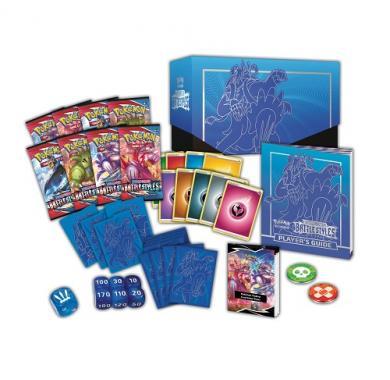 Kartična igra Pokemon TCG: Sword & Shield - Battle Styles Elite Trainer Box (Rapid Strike) sadržaj