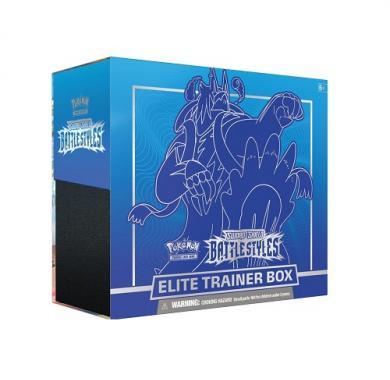 Društvena igra Pokemon TCG: Sword & Shield - Battle Styles Elite Trainer Box (Rapid Strike) kutija