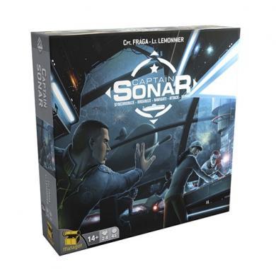 Captain Sonar, društvene igre, strateške igre, board game, porodične igre, društvene igre Beograd, društvene igre Srbija