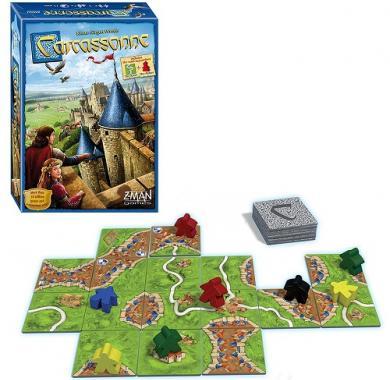 Carcassonne, Drustvena igra, porodicna igra, igra za poklon, zabava, poklon, beograd, srbija, prodaja drustvenih igara