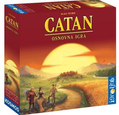 Catan, naseljenici ostrva katan, osnovna igra, beograd, društvena igra
